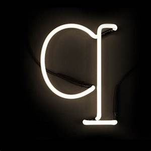 seletti neon wall light letter q iwoot With neon wall letters