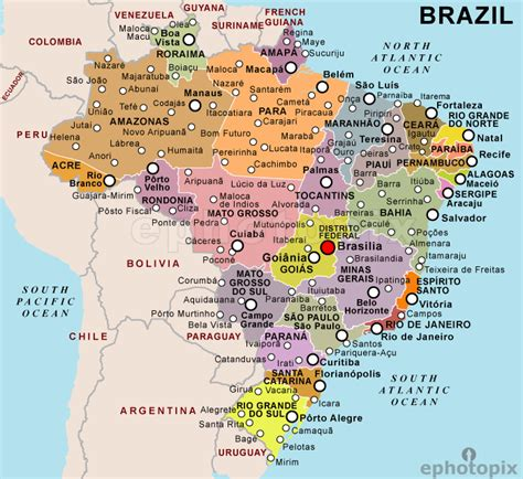 geography brazil facil