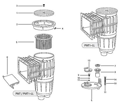 Jacuzzi-brand Replacement Parts For Pool Skimmers