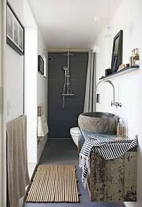 une petite salle de bain deco avec douche italienne With douche a l italienne petite salle de bain
