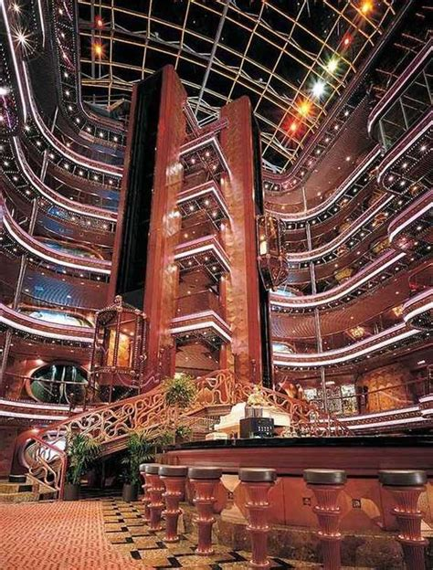 cruise ship interiors to enjoy the nautical journey bored art