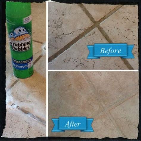 scrubbing bubbles  clean kitchen floor besto blog