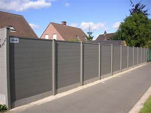 Cloture En Pvc : plastivan photos cl ture rainur es duofuse composite bois ~ Premium-room.com Idées de Décoration