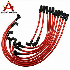 Performance Spark Plug Wire Set 10 5mm For Chevy Gm Lt1