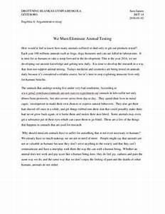 Essays About English Language Argumentative Essay On Animal Testing For Cosmetics Sample High School Admission Essays also English Essays Examples Argumentative Essay Animal Testing How To Write A Business Plan  Thesis For A Persuasive Essay