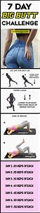7 Day Bigger Butt Challenge  No-squats