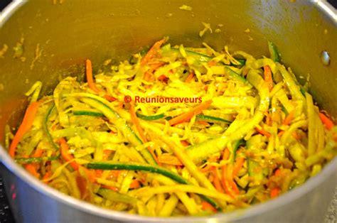 recette cuisine legumes achard légumes réunion recette achard aux légumes