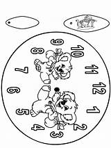 Koala Clock Orologio Klok Kleurplaat Reloj Boardwalk Funnycoloring Coloring Colorare Stampare Coala Cut Zegar Uhr Basteln Nukleuren Dibujos Jetztmalen Kleurplaten sketch template