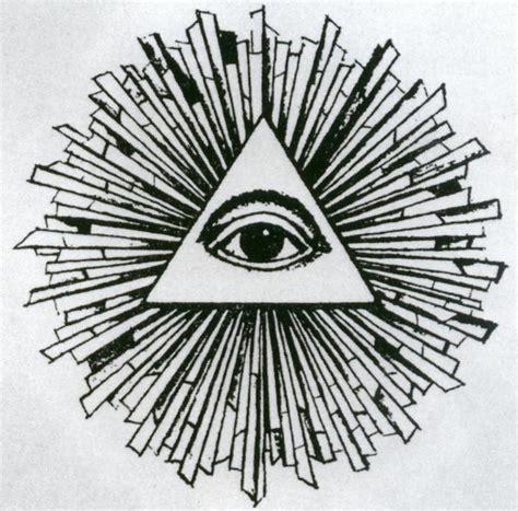 occhio illuminati il simbolo triangolo con occhio cosa significa