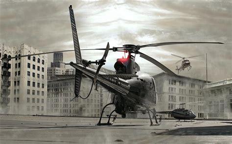 fond decran helicoptere