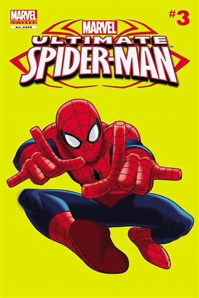 Comic Spider Gifs Clipart Comics Ultimate Spiderman
