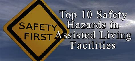 top  safety hazards  assisted living facilities