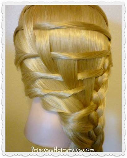 Step Braid Ladder Hairstyle Hair Hairstyles Recreate