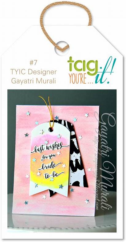 Card Tag Challenge Smooches Tyic Paper Espresso