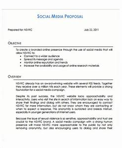 10 social media proposal templates free sample example With social media rfp template