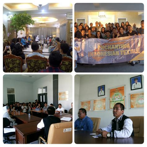 business administration students excursion makassar