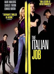 Cartel De The Italian Job Poster 1 Sensacinecom