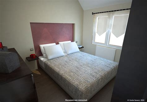 chambre d h e 3d projet deco projets 3d de chambres et suites