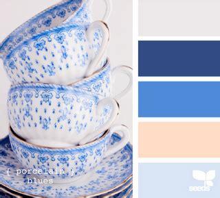 porcelain blues dinnerware in 2019 color design seeds