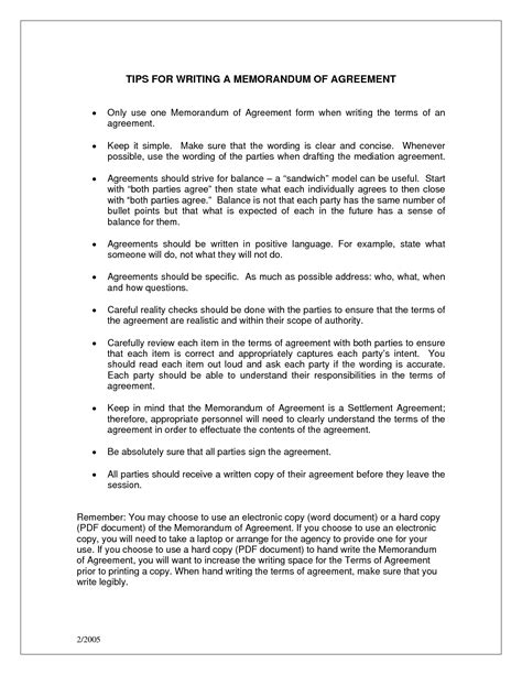 agreement template category page  efozacom