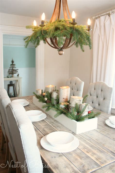 how to decorate your kitchen table remodelaholic holiday decorating ideas for every room in