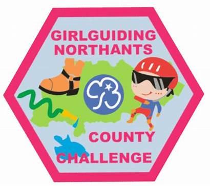 Challenge County Girlguiding Badge Challenges Northamptonshire Trefoil