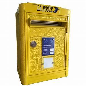 Boite à Lettre La Poste : boite cl s boite aux lettres la poste rose bunker ~ Dailycaller-alerts.com Idées de Décoration