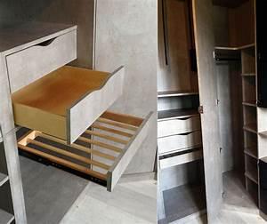Porte Dressing Sur Mesure : dressing sur mesure et chambre ~ Premium-room.com Idées de Décoration