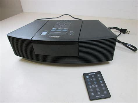 bose cd radio bose wave radio cd player model aw rc g1 black with remote