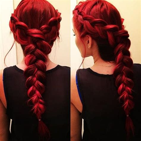 sweet french braids pretty designs