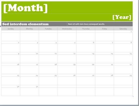 ms word calendar templates montly calendar pinterest