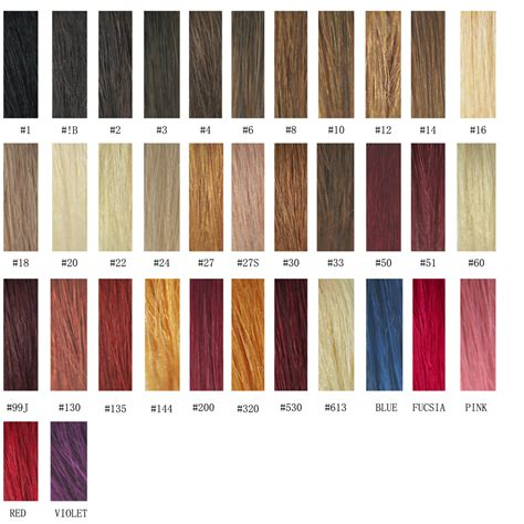 Hair Colors And Their Names by Names Of Hair Color Products Hairsjdi Org
