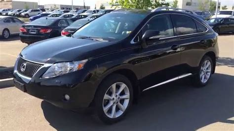 lexus rx 350 black pre owned black on black 2010 lexus rx 350 awd touring