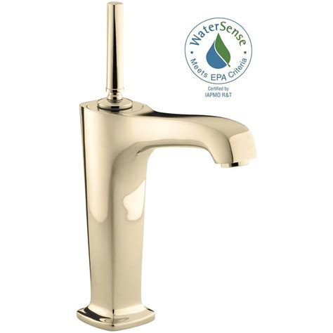 kohler vessel sink faucets kohler margaux single hole single handle low arc bathroom