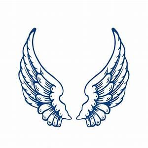 Largeangelwings Clip Art At Clker Com