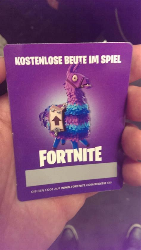 lootcard gamescom  fortnite