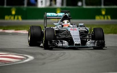 Hamilton Lewis Wallpapers Grand Prix Canadian Turn