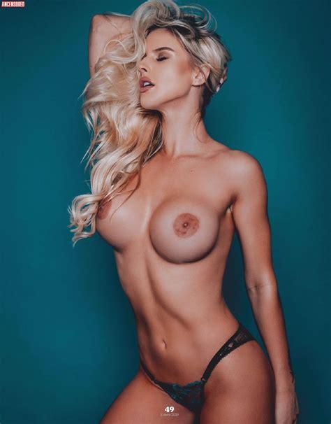 Naked Brennah Black in Playboy Magazine México