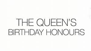Queen's Birthday Honours list 2014