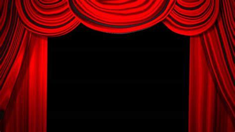 classic curtain animation