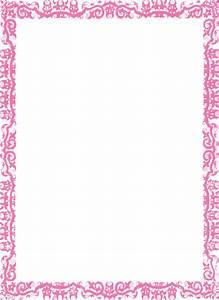 Border-pink Clip Art at Clker.com - vector clip art online ...