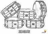 Coloring Drums Snare Musical Instruments Yescoloring Drum Pages Harley Percussion Printables Cool Majestic Instrument Davidson Quads sketch template