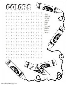 Free Word Search Printables Kids