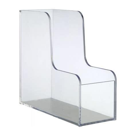 porte document pour bureau palaset accessoires de bureau transparent acrylique