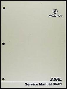 2002 Acura 3 5 Rl Repair Shop Manual Original Supplement