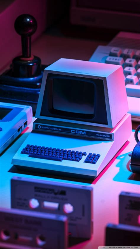 retro computer aesthetic ultra hd desktop background