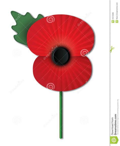 remberance poppy remembrance poppy stock vector illustration of britain 31575285