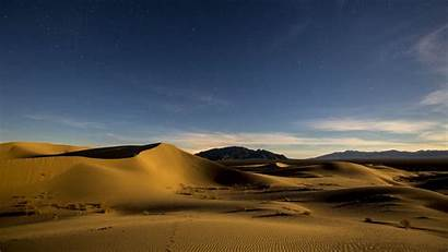 Desert Sands Sky Dunes Blm Dramatic California