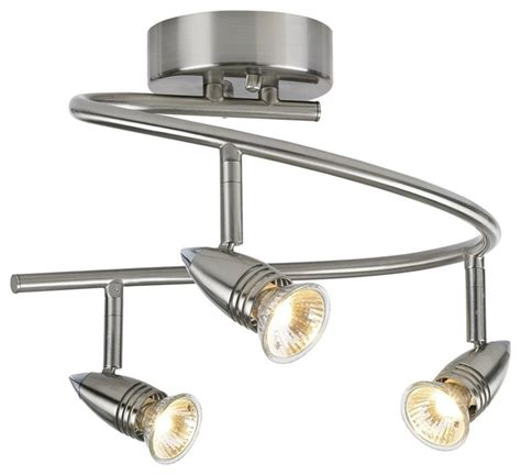 contemporary pro track 174 150 watt three light spiral