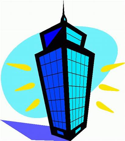 Building Clipart Clip Office Tall Vector Selected
